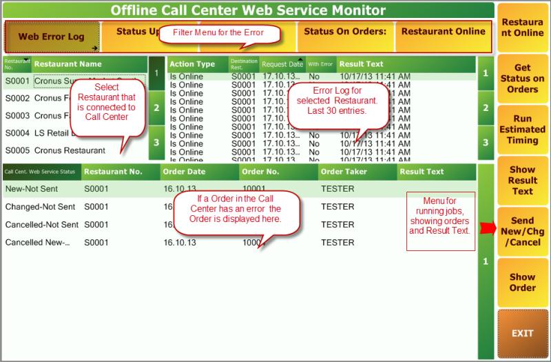 Offline Call Center